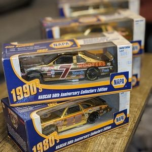 NASCAR 50th NAPA 1st Edition (lot) GOLD